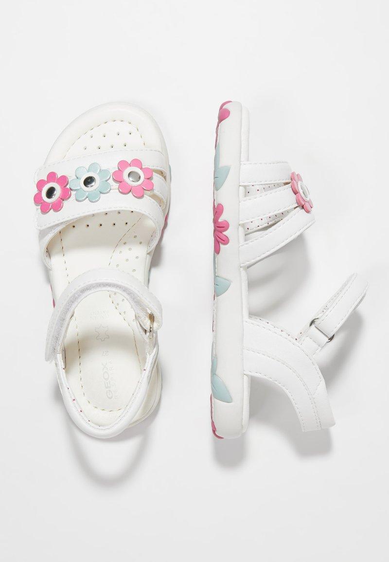 Geox - HAITI GIRL - Sandals - white
