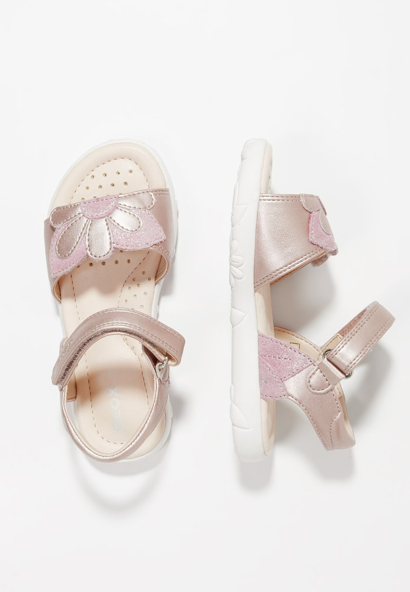Geox - HAITI GIRL - Sandals - dark pink