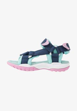 BOREALIS GIRL - Chodecké sandály - navy/aqua