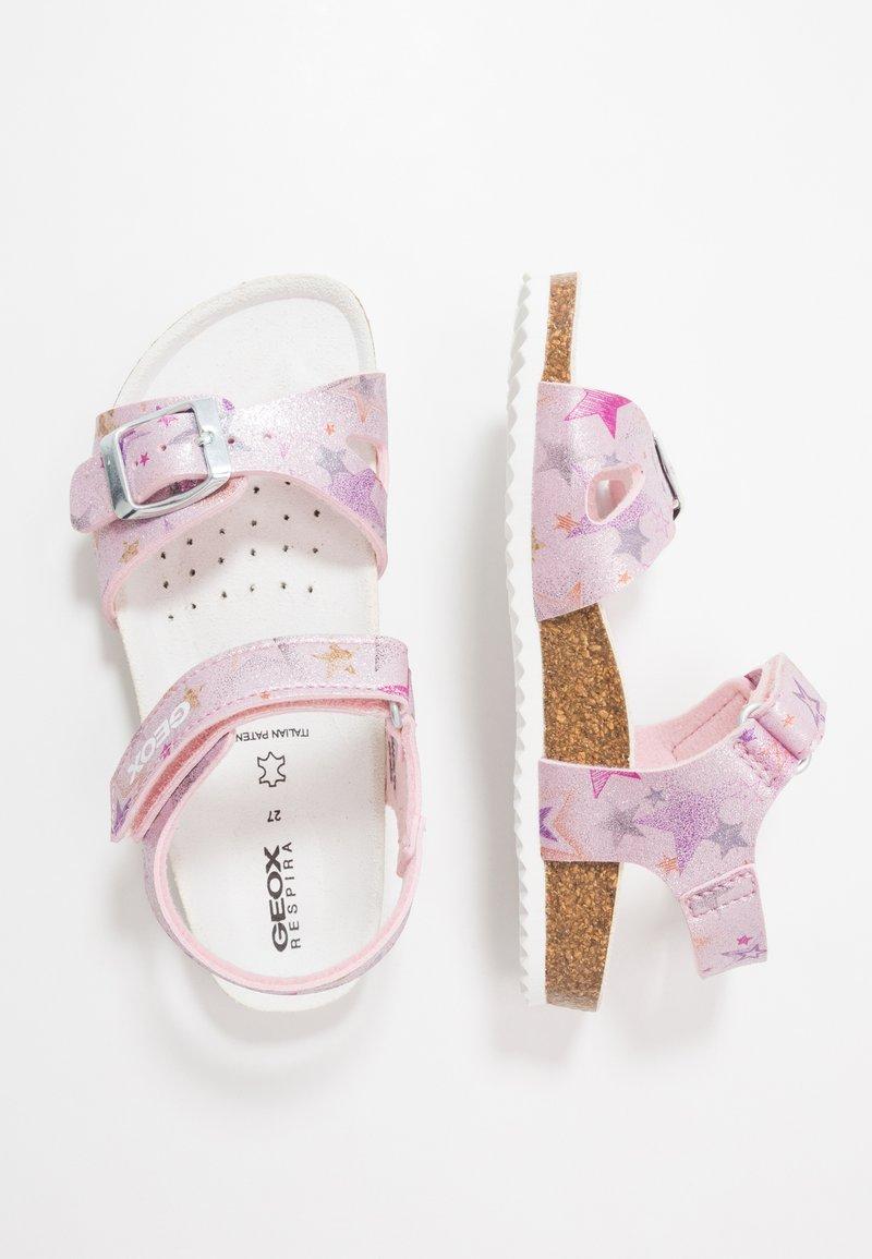 Geox - ADRIEL GIRL - Sandály - pink