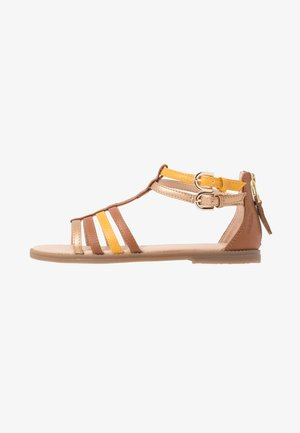 KARLY GIRL - Sandals - caramel