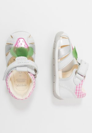 EACH GIRL - Baby shoes - white