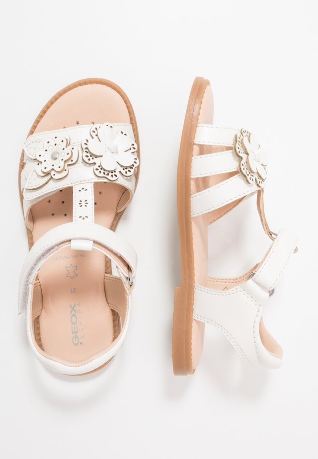 KARLY GIRL - Sandalen - white