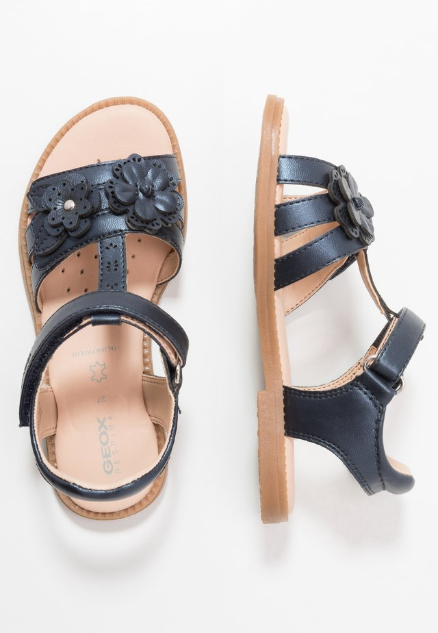 KARLY GIRL - Sandalen - navy