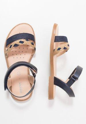 KARLY GIRL - Sandals - navy