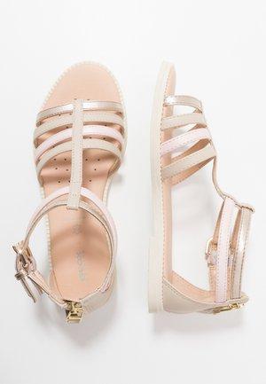 KARLY GIRL - Sandals - skin/light rose