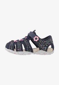 Geox - ROXANNE - Sandals - dark navy - 1
