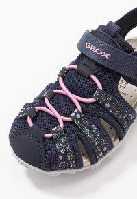 Geox - ROXANNE - Sandals - dark navy - 2