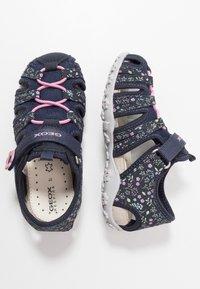 Geox - ROXANNE - Sandals - dark navy - 0