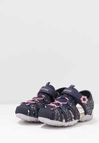 Geox - ROXANNE - Sandals - dark navy - 3
