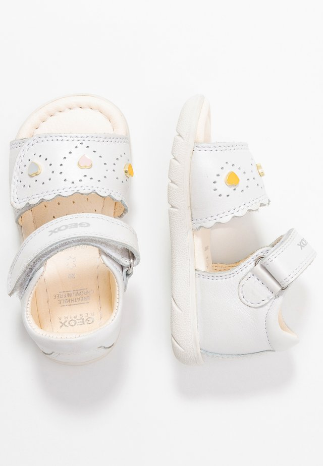 ALUL GIRL - Sandalen - white