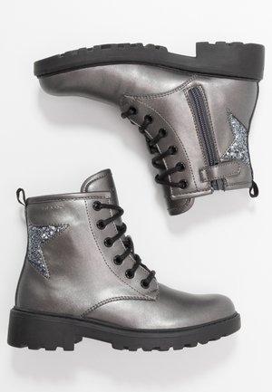 CASEY GIRL - Bottines à lacets - dark grey