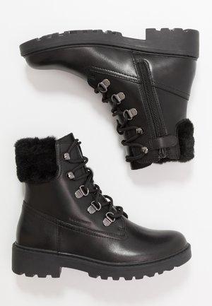 CASEY GIRL WPF - Snörstövletter - black