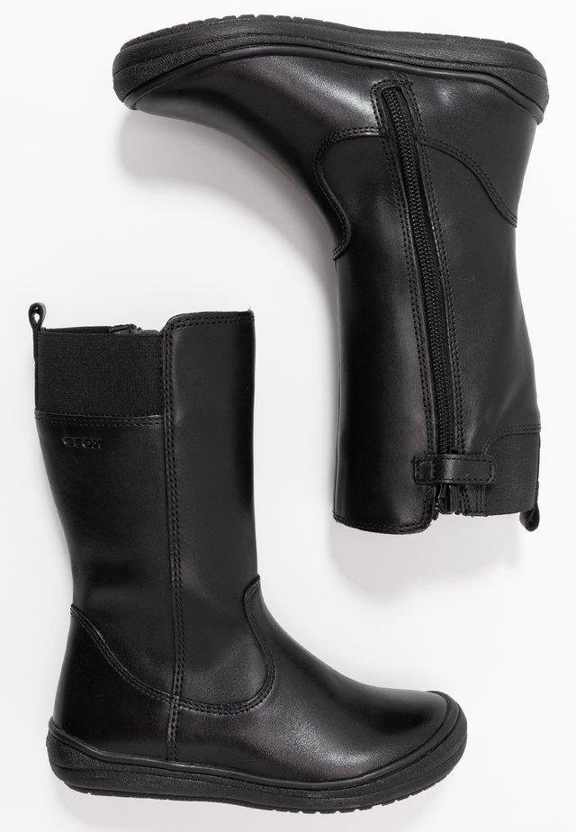HADRIEL GIRL - Vysoká obuv - black