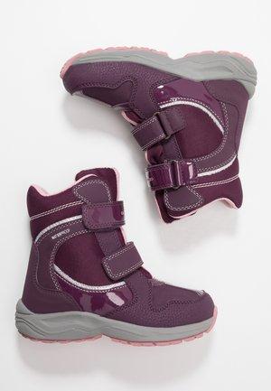 NEW ALASKA GIRL WPF - Stivali da neve  - purple/silver