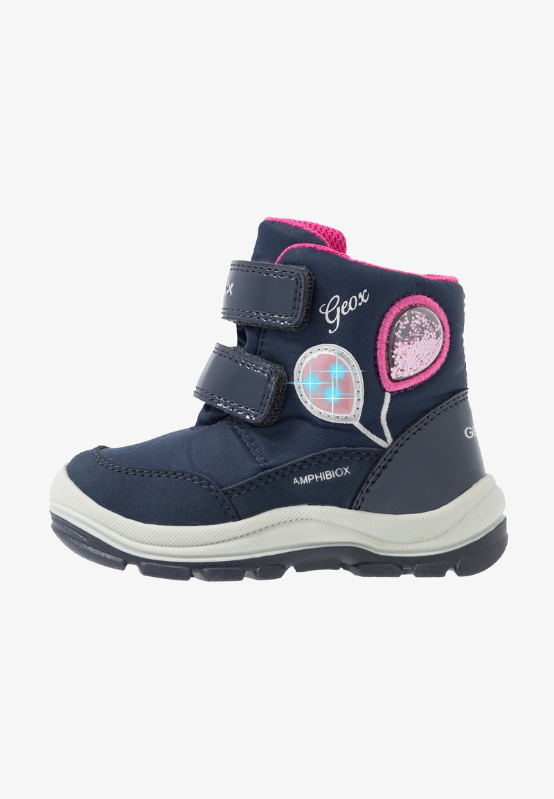 Geox - FLANFIL GIRL ABX - Winter boots - navy