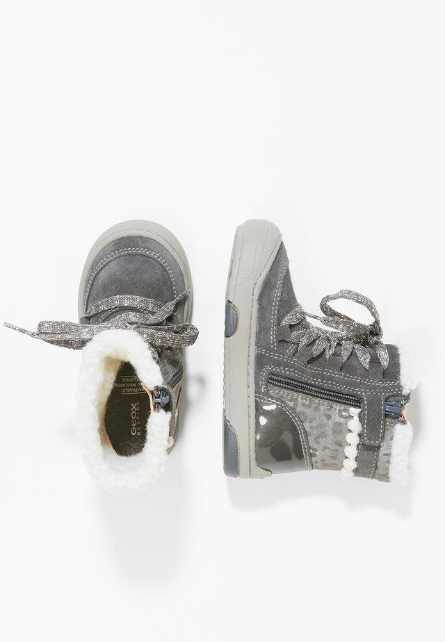 JAYJ GIRL - Lær-at-gå-sko - dark grey