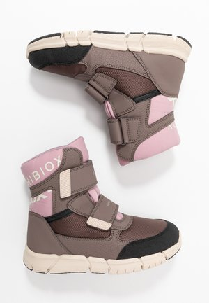 FLEXYPER GIRL - Snowboot/Winterstiefel - smoke grey/old rose