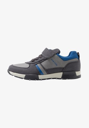 ALFIER - Matalavartiset tennarit - dark grey/royal