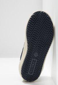 Geox - ALONISSO BOY - Sneaker high - navy/dark orange - 4