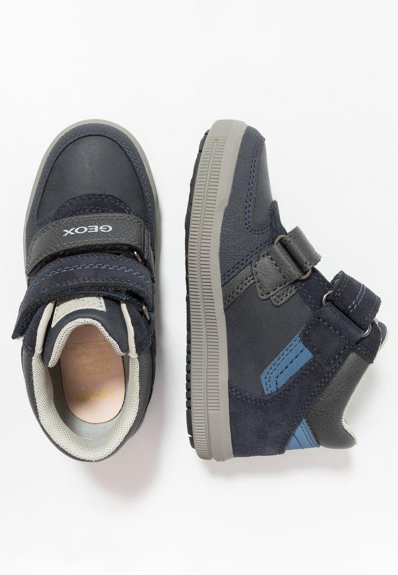 Geox - ARZACH BOY - Sneaker high - navy/avio