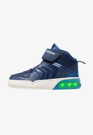 GRAYJAY BOY - Sneaker high - navy/royal