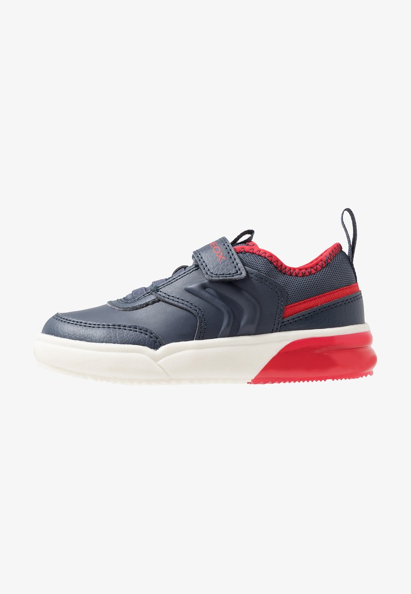 Geox - GRAYJAY BOY - Joggesko - navy/red