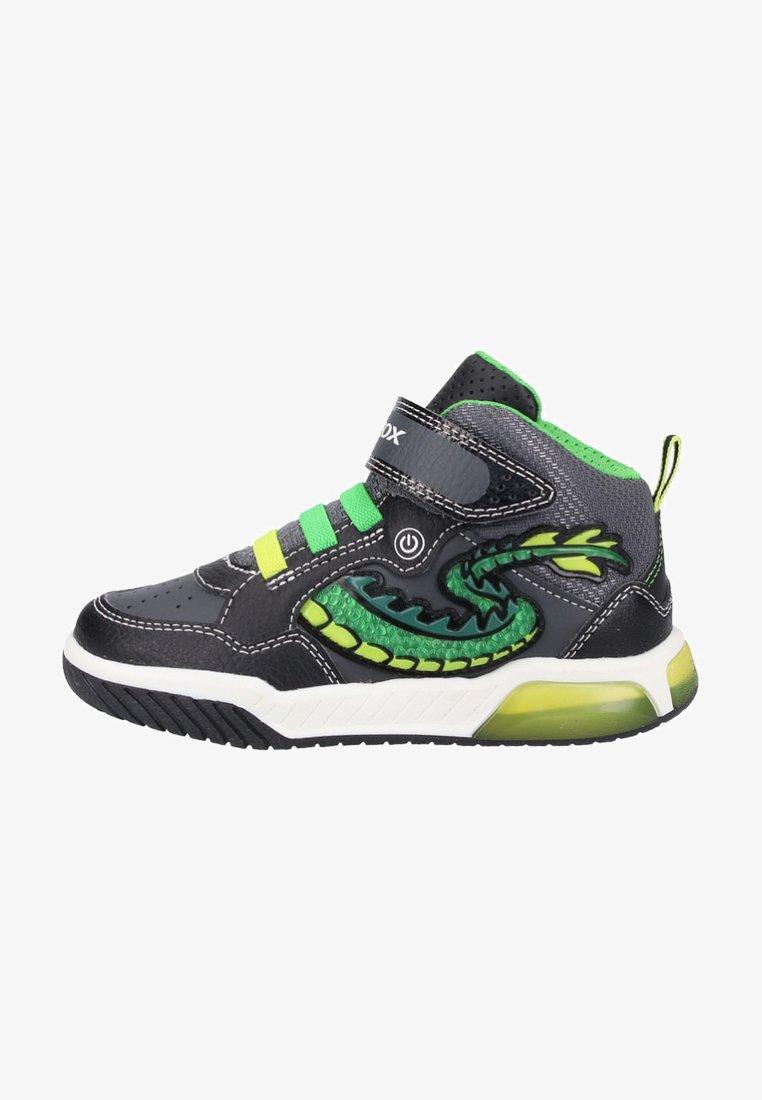 Geox - Baskets montantes - black/green