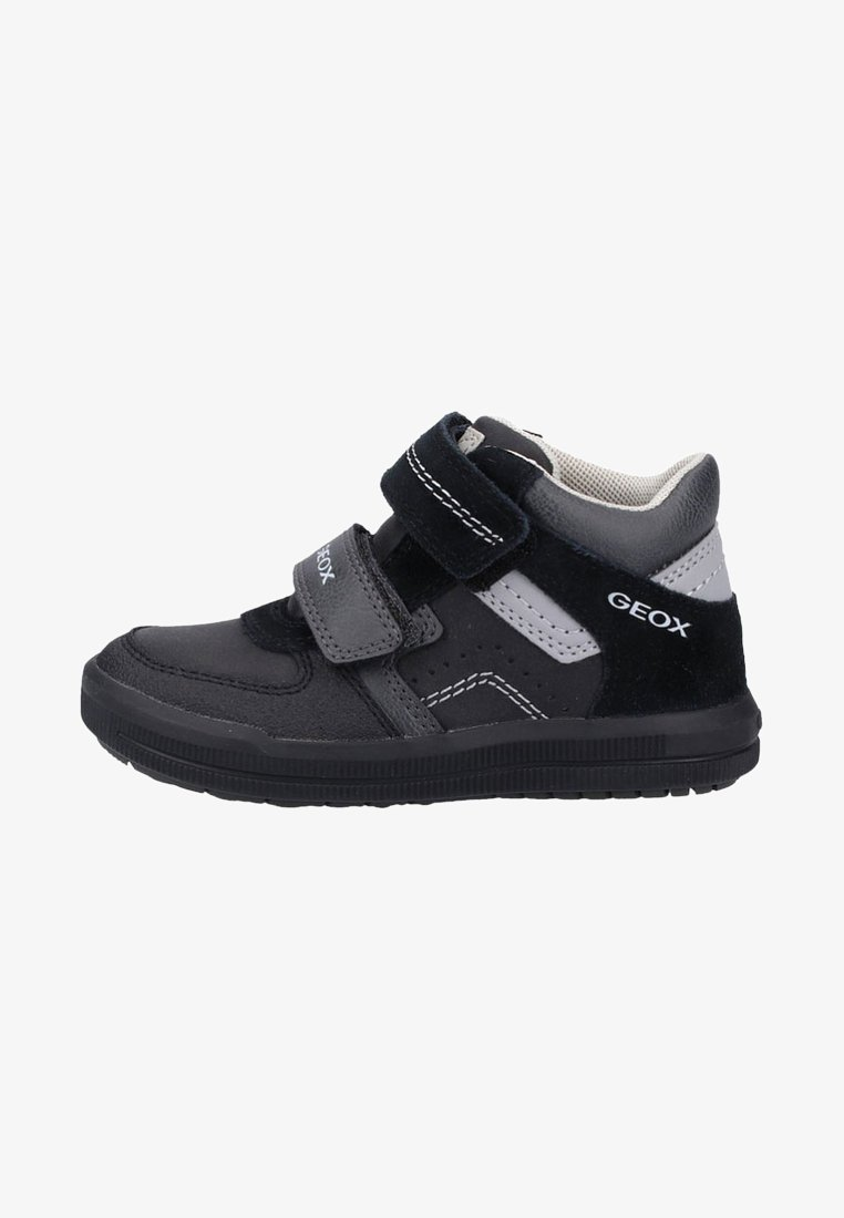 Geox - Chaussures à scratch - black/dark grey