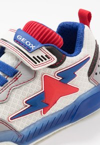 Geox - INEK BOY - Trainers - white/royal