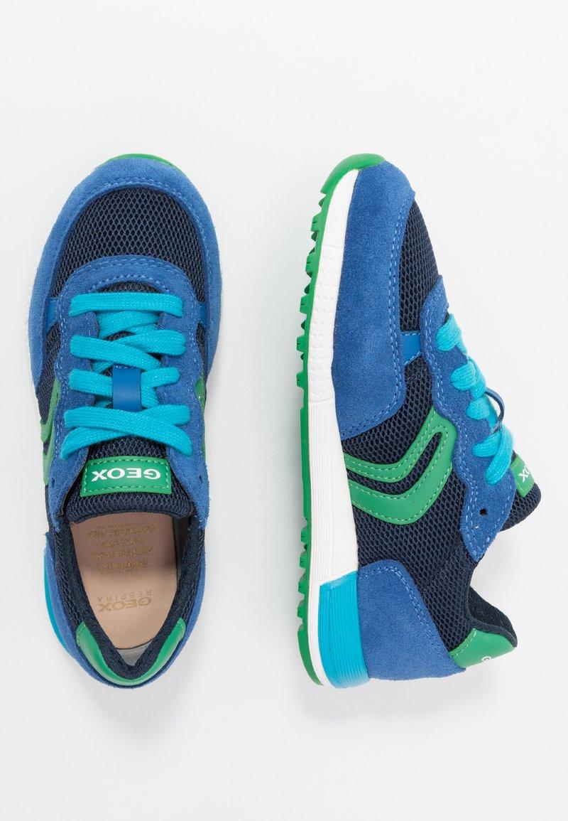 Geox - ALBEN BOY - Zapatillas - royal/green