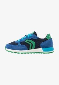 Geox - ALBEN BOY - Zapatillas - royal/green - 1