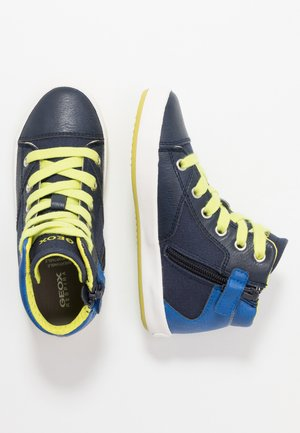 GISLI BOY - Zapatillas altas - navy/royal