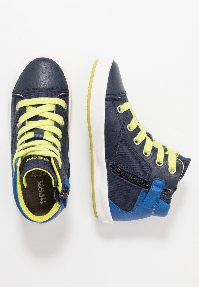 GISLI BOY - Zapatillas altas - navy/royal