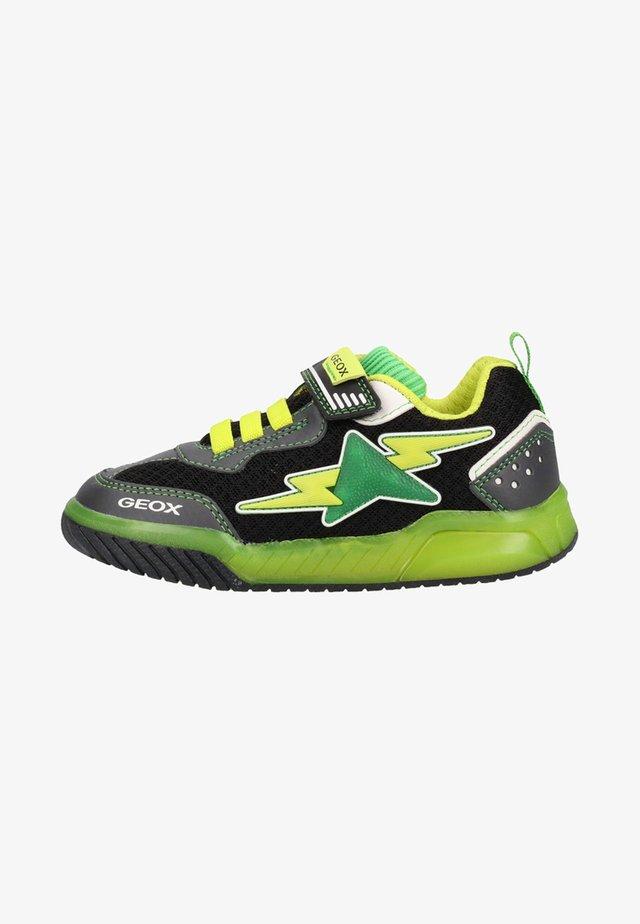 Sneakers laag - black/lime