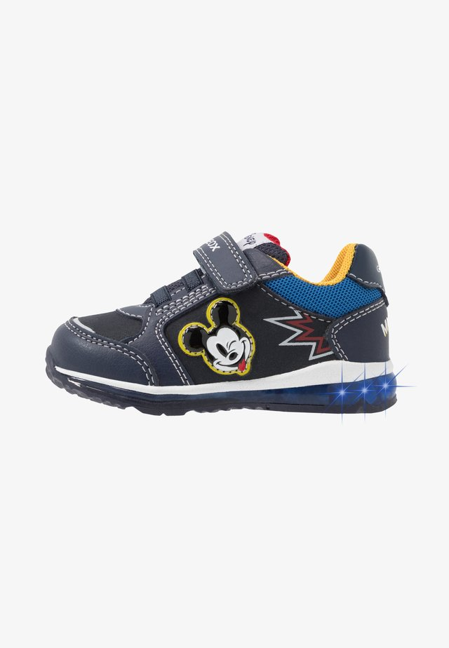 DISNEY  TODO BOY - Sneakers basse - navy