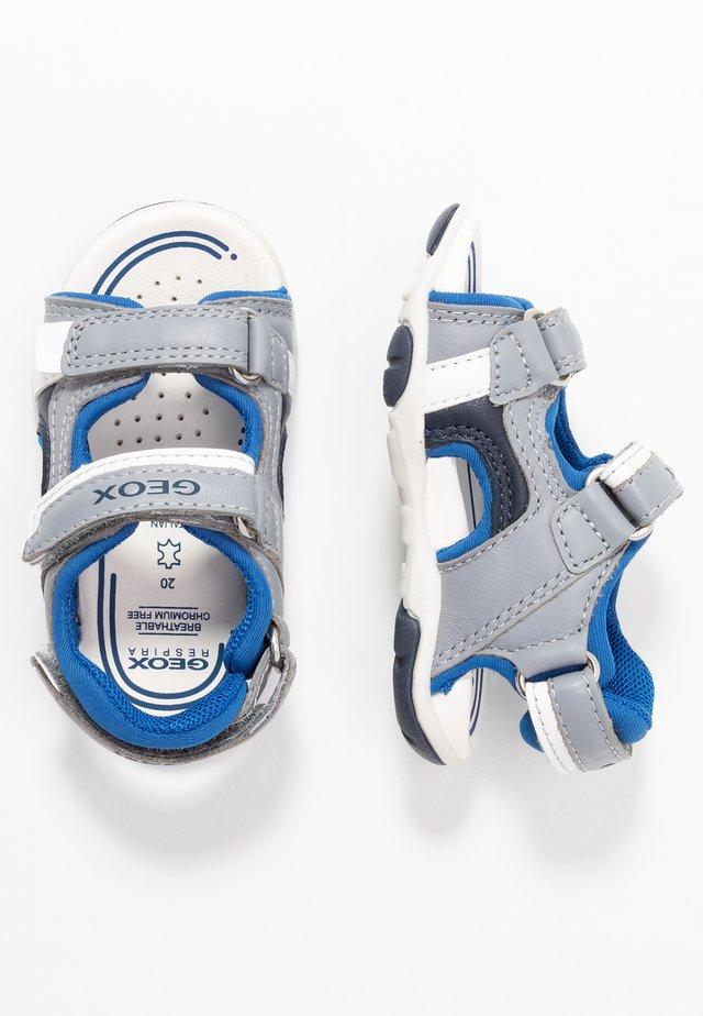 AGASIM BOY - Chodecké sandály - grey/royal