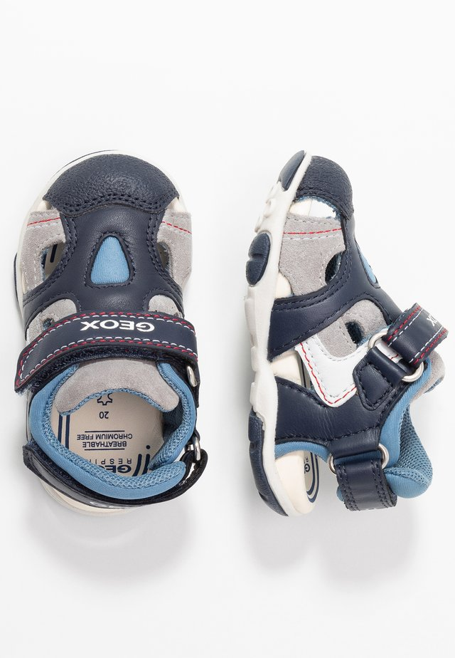 AGASIM BOY - Outdoorsandalen - navy/dark sky