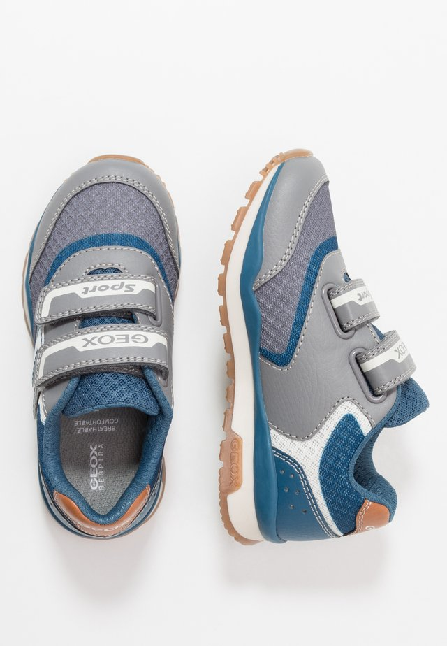 PAVEL - Trainers - grey/avio