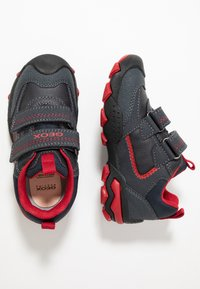 Geox - BULLER BOY - Joggesko - navy/dark red - 0