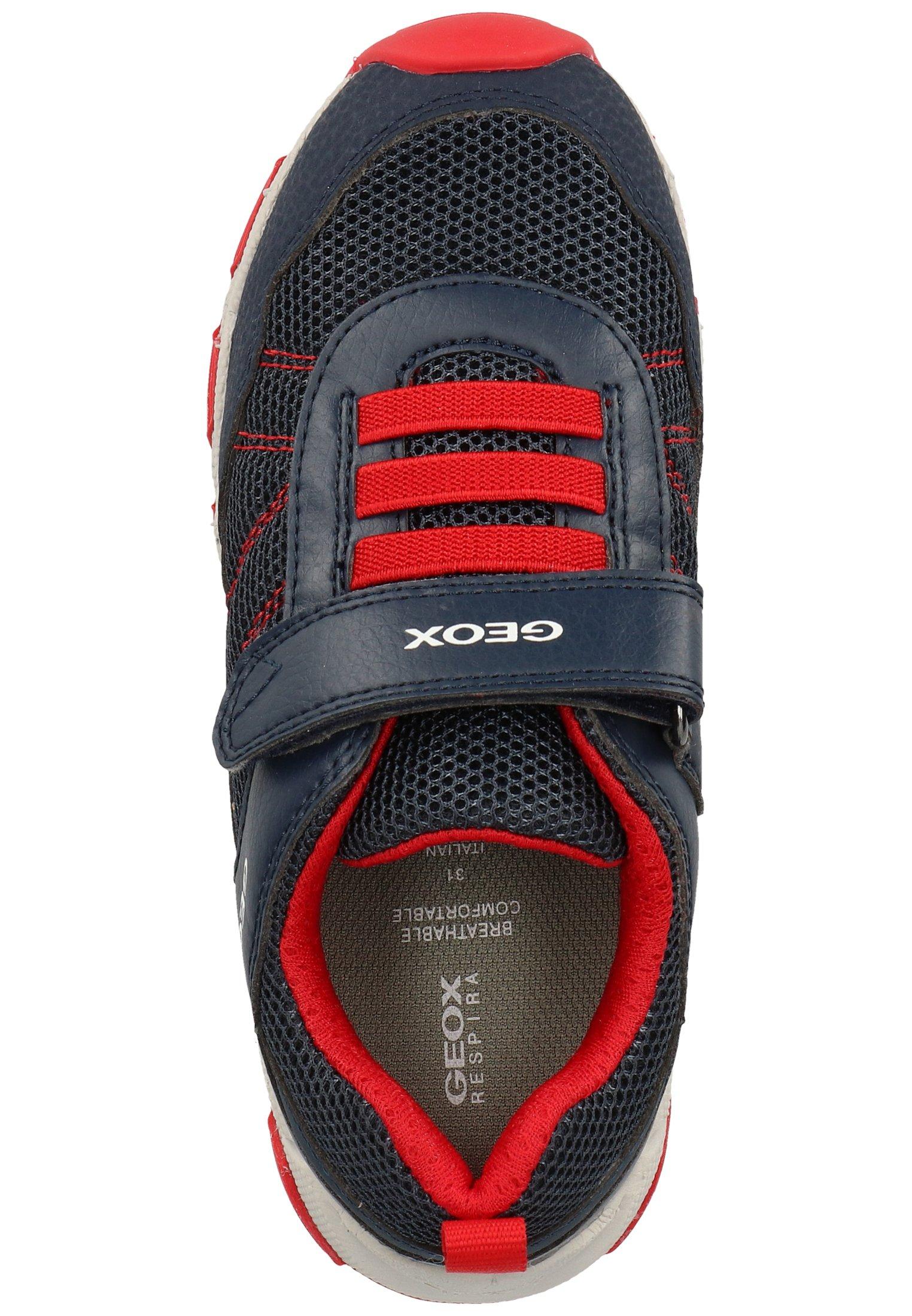 Geox Sneakersy niskie - navy/red