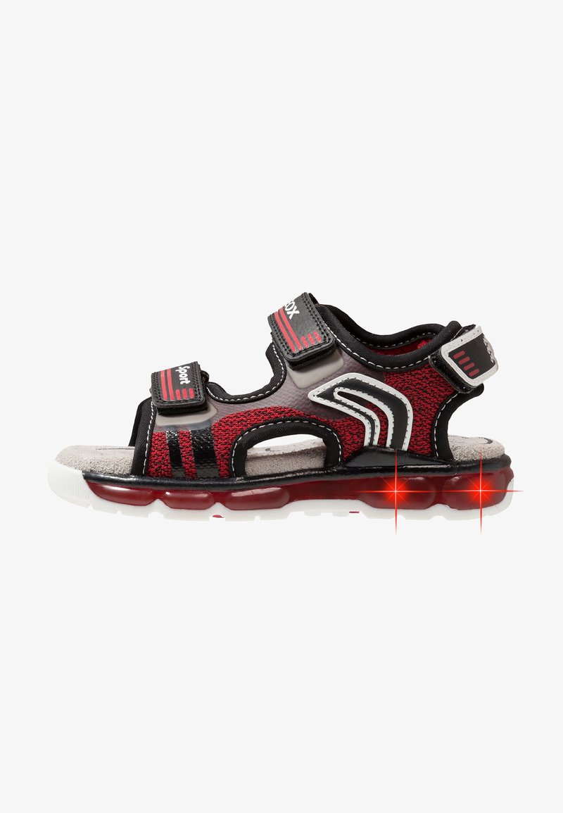 Geox - Sandaler - red/black