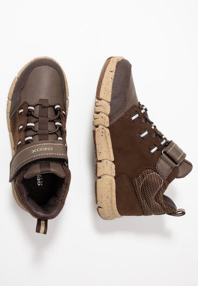 FLEXYPER BOY ABX - Zapatillas altas - brown/beige