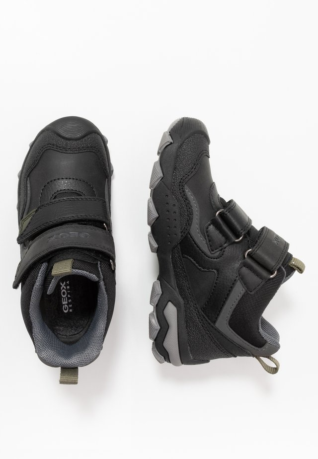 BULLER BOY  ABX - Winter boots - black/military