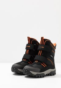 Geox - HIMALAYA BOY WPF - Snowboot/Winterstiefel - navy/orange - 3