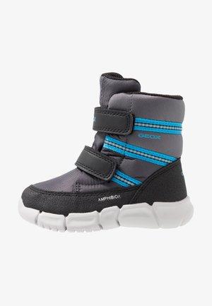 FLEXYPER BOY ABX  - Snowboots  - anthracite/ocean