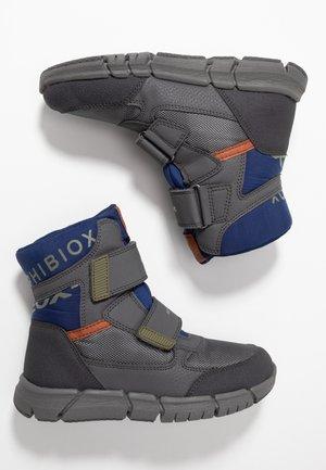 FLEXYPER BOY ABX - Zimní obuv - dark grey/blue