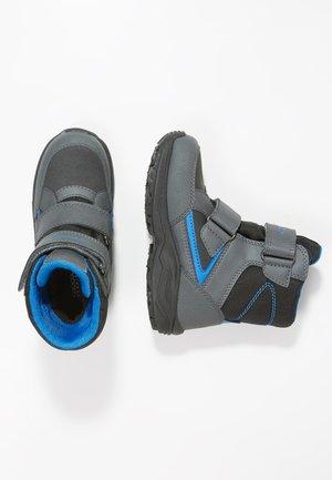 KURAY BOY ABX - Snowboots  - black/royal