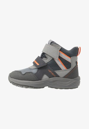 KURAY BOY - Talvisaappaat - grey/orange