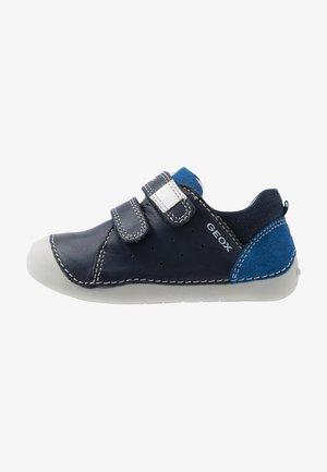 TUTIM - Zapatos con cierre adhesivo - navy/royal
